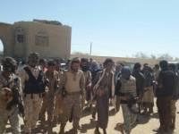 ابناء وصابين وعتمة يرفدون مواقع الجيش الوطني في محافظة الجوف بالمقاتلين