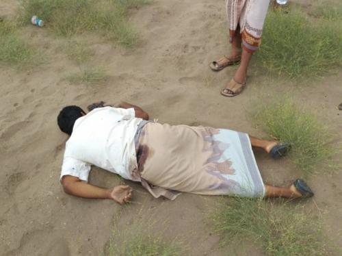 العثور على جثة شاب مقتولا في لحج