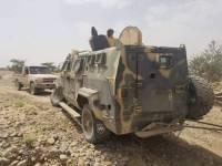 صنعاء.. مصرع عشرات الحوثيين وتدمير 16 طقما واستعادة أسلحة بكمين محكم للجيش الوطني