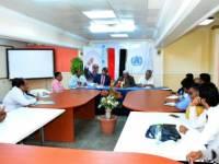 لقاء موسع بجامعة عدن يبحث مجالات الدعم المقدم من منظمة الصحة العالمية