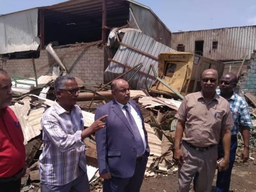 توجيه حكومي بتشكيل لجنة للتحقيق في أسباب انفجار غلاية بمصنع الغويزي بحضرموت