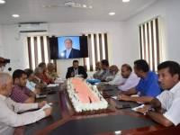 توقيع اتفاقية إعادة تأهيل طريق هيجة العبد الرابط بين لحج - تعز