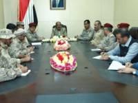 نائب الرئيس يرأس اجتماعاً عسكرياً في مأرب ويؤكد أن النصر الكامل سيتحقق قريباً