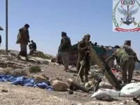 مصرع 20 حوثيا بنيران أبطال الجيش في جبهة الأحكوم بتعز