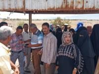 قوات أمن المنطقة الحرة بعدن تعتدي على موظفي الهيئة