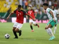 منتخبنا الوطني يخسر امام نظيره السعودي بثلاثة أهداف