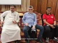 رئيس الاتحاد اليمني يحفز منتخب الشباب للمعترك العربي