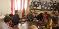 مدير تربية لحج يلتقي وفد منظمة كير