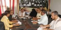 مدير تربية لحج يرأس اجتماعاً استثنائياً لمناقشة الاستعدادات للعام الدراسي الجديد 2021--2022