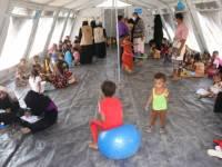 شباب للتنمية الشاملة بأبين تنفذ مشروع الدعم النفسي لأطفال النازحين